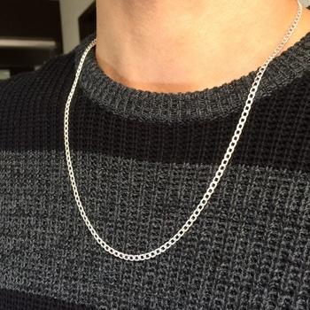 imagem Corrente grumet 60 cm em prata 925